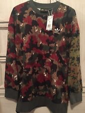 8ea0b2a91 Adidas Pharrell HU Oversized Long Sleeve Crew Sweatshirt CY7863 Mens Medium