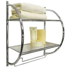 Set di accessori da bagno mensola in metallo