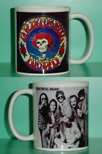 GRATEFUL DEAD - Jerry Garcia - with 2 Photos - Designer Collectible GIFT Mug