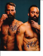 MADISON AND RILEY MCKIBBIN SIGNED BEACH VOLLEYBALL 8X10 AVP