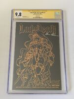 Chaos Comics Lady Death: The Crucible #1 CGC 9.8 SS Brian Pulido Leather Edition