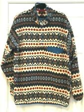 PATAGONIA SNAP-T AZTEC MENS XL EXTRA LARGE FLEECE SYNCHILLA PULLOVER EUC