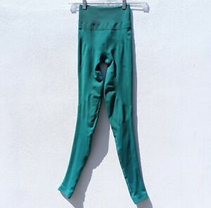 """LULULEMON Women's ZONE IN 27"""" COMPRESSION TIGHTS Forage Teal Leggings 2-4"""