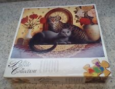 1999 MANTLE CATS Jigsaw Puzzle by D. Craig ROSE ART Collection 1000 Piece SEALED