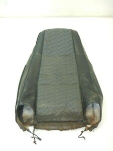 Jeep Wrangler CJ 76-86 Black Front Upper Seat Fabric Cover OEM FREE SHIPPING