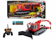 Dickie RC Radio Controlled Snow Plow Recuse Vehicle Pistenbully 600 - Brand New