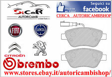 P23108 KIT PASTIGLIE FRENO BREMBO ANT ALFA ROMEO MITO GPL 2008 FIAT 500