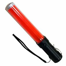 Led Flashing/Constant Traffic Wand 260mm Long with White Light Torch -Top End