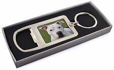 American Staffordshire Bull Terrier Dog Chrome Metal Bottle Opener K, AD-SBT5MBO