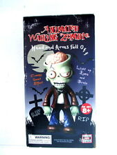 Animated Walking Zombie heads and arms fall off creepy sounds halloween