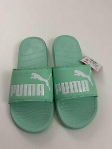 New Puma SLIDES Turquoise Color Size 11