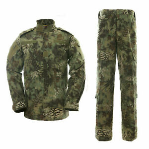 Military Tactical Mens Combat Jacket SWAT Special Force Training Army Cargo Pant
