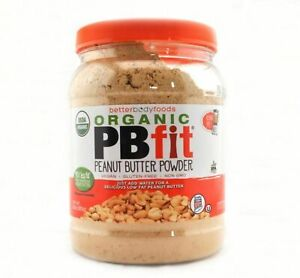 🆕PBfit All-Natural Peanut Butter Organic Pb Fit Powder, 30 Ounce , brand New