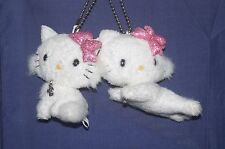 "SANRIO 2 Charmmy kitty Plush Doll Keychain JAPAN 2.8"",3.2"""