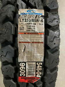 1 New LT 235 85 16 LRE 10 Ply Cooper Discoverer S/T Maxx Mud Tire