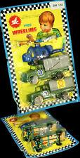 Vehículo militar set OVP blister 1970er hong kong shell muy bonito conductor imágenes