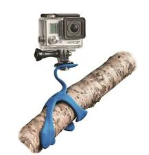 3 IN 1 FLEXIBLE TRIPOD SPLAT BLAU Kamera Handy Halterung