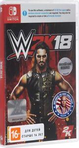 WWE 2K18 (Nintendo Switch, 2017) - English Version