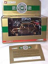 24ct Gold Plated Austin Mini cooper 50th mib ltd ed