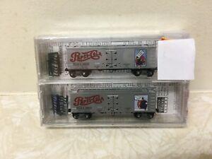 Micro-Trains 36' Wood Sheathed Ice Reefer (Pepsi)
