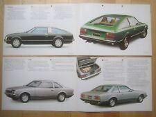 Toyota Celica TA40 Liftback & Coupe 1977-78 Brochures x2 , 1600 & 2000 GT XT ST