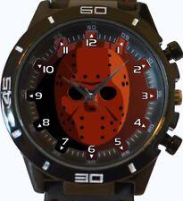 Friday The 13th Jason Mask New Trendy Sports Series Unisex Gift Wrist Watch