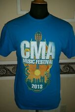 CMA Music Festival 42nd Country Music Hall of Fame Museum '13 TShirt Adult M NWT