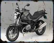 Bmw R 1200R 11 A4 Metal Sign Motorbike Vintage Aged