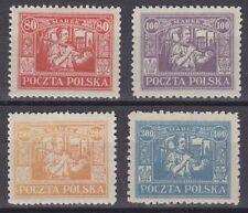 Polen Oberschlesien 1923 Mi.Nr. 17-20 ** postfrisch. Selten angeboten Mi. 240,-€