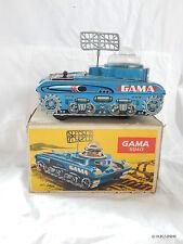 Gama 9940 SPACE TANK SPAZIALE carri armati Luna veicolo giocattoli di latta OVP