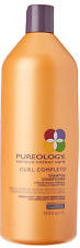 PUREOLOGY SERIOUS COLOUR CARE CURL COMPLETE SHAMPOO 33.8 OZ LITER CURLY CURLS