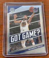 2019-20 Panini Mosaic Steph Curry Got Game Warriors