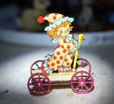 Nantucket Artist made: Pull Toy for the child living in your Dollhouse 1:12