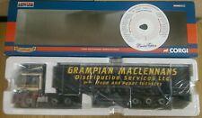 Corgi CC13233 DAF XF Curtainside Grampian Maclennans Ltd Ed No. 0002 of 1111
