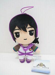 "King of Prism by PrettyRhythm Kouji Mihama Furyu 6"" Strap Plush TAG Doll Japan"