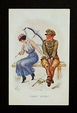 1916 WW1 Postcard Soldier Block Tavern Pub Shepherdess Walk Shoreditch London N1