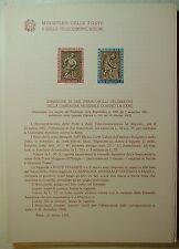 1963  ITALIA  Bollettino Postale N° 94 Campagna Contro la Fame