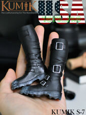"KUMIK 1/6 Scale Horse Riding Boots HOLLOW For 12"" PHICEN Female Figure ❶USA❶"