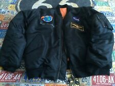 More details for flying jacket signed by apollo 7 astronaut walt cunnngham. new.
