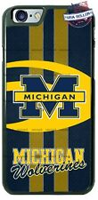 Michigan Wolverines College Football Logo Phone Case Cover For iPhone Samsung