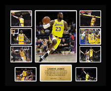 8146fa9a1 New LeBron James Signed Los Angeles LA Lakers Limited Edition Memorabilia  Framed