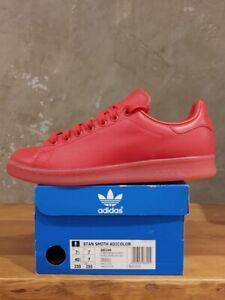 Adidas Stan Smith Adicolor S80248 Sneaker Schuhe Trainer  Rot NEU  OVP