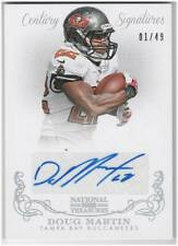 Doug Martin Auto 2013 National Treasures Century Signatures 1/49 Signed 1/1 Last