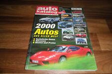 AUTO KATALOG 2000 -- 2000 Modelle aus aller Welt / Betriebskosten - Preise-Daten