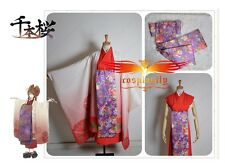 Vocaloid Senbon Sakura Meiko Senbonzakura Kimonos Cosplay Costume Customize