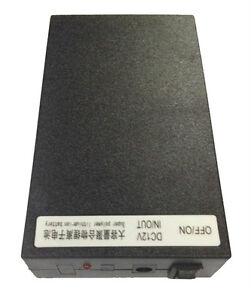 12V DC Rechargeable Li-ion Battery Pack (Black case) 6800mAh Lithium-ion UK