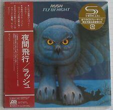 Rush-Fly By Night Japon SHM MINI LP CD OBI NEUF RAR! WPCR - 13473
