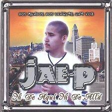 Jae-P : Ni De Aqui Ni De Alla CD