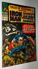 TALES OF SUSPENSE #86 IRONMAN AND CAP  NICE NM 9.2/9.4