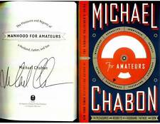 Michael Chabon signed Manhood For Amateurs 1st printing hardcover book
